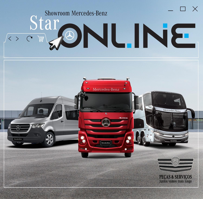 Mercedes-Benz é a fabricante de caminhões mais inovadora do Brasil