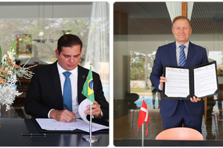 Transição energética é objeto de memorando de entendimento entre ANEEL e Embaixada da Dinamarca